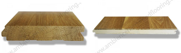 What is the difference between solid wood and engineered wood flooring - solid and engineered