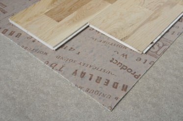 What underlay should I use for my wooden floor