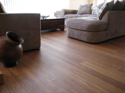 How to lay wood flooring onto concrete