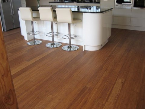 Wood flooring and underfloor heating