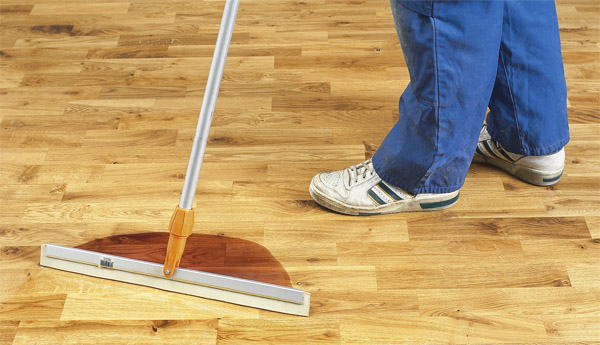 How to treat an unfinished hardwood floor - oil