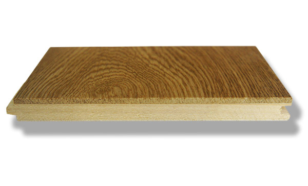 What is engineered Oak flooring - cross section