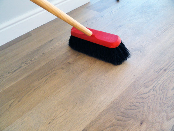What is the best way to clean my hardwood floor