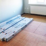 How to store wood flooring before installation