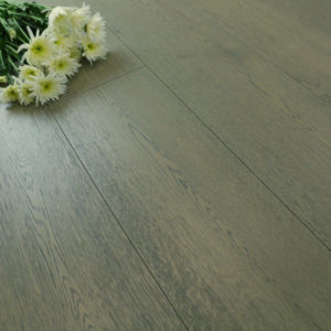 New Engineered Oak Flooring: Grey