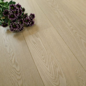 New Engineered Oak Flooring: White