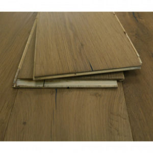 New Engineered Oak Flooring: Hand Scraped