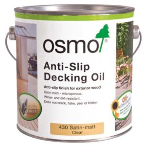 Quick Guide to Osmo Decking Oils