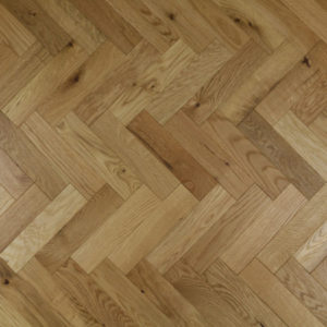 New Engineered Charnwood Oak Parquet Block Flooring