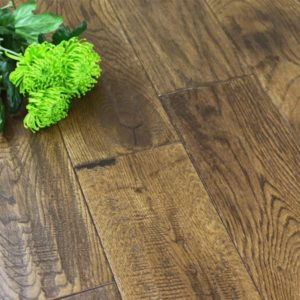 Antique distressed solid wood flooring